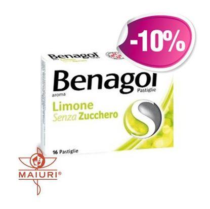 Benagol Pastiglie Gusto Limone Senza Zucchero 16 Pastiglie