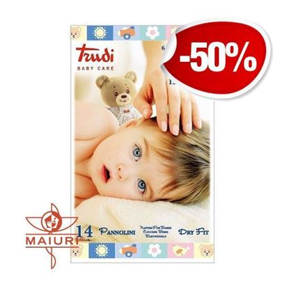 TRUDI BABY CARE PANNOLINI DRY FIT XL 15/30KG
