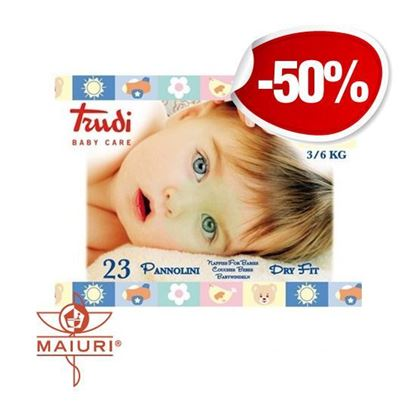 TRUDI BABY CARE PANNOLINI MINI 3/6 KG