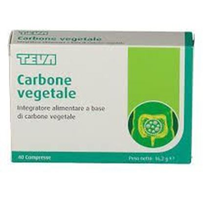 Picture of Carbone vegetale benessere intestinale 40 compresse
