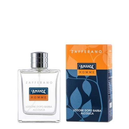 Picture of After shave lotion Alcoholic Saffron AMANDE HOMME